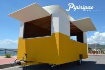 Food Truck-modelo gypsy wagon