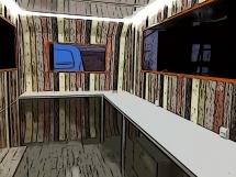 Food Truck-decoración interior